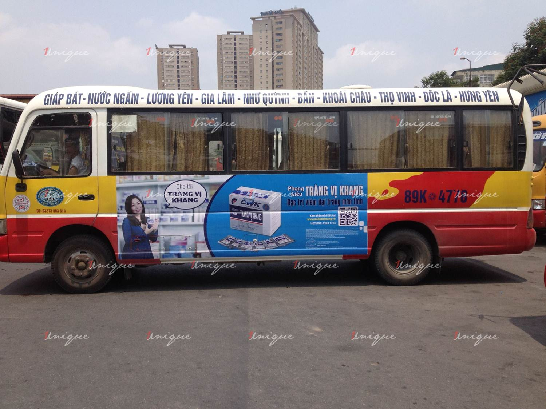 Quảng cáo xe bus tại Hưng Yên