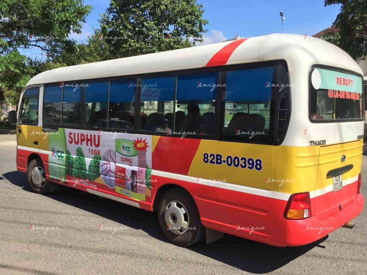 Quảng cáo xe bus tại Kon Tum