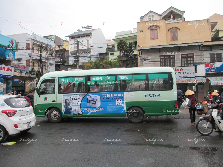 Quảng cáo xe bus tại Lâm Đồng