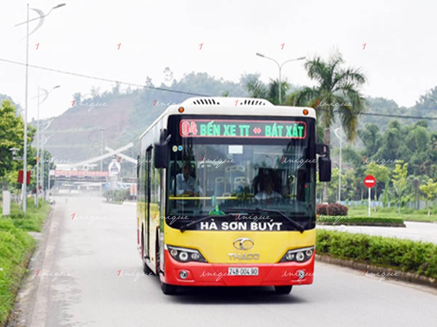 Quảng cáo xe bus tại Lào Cai
