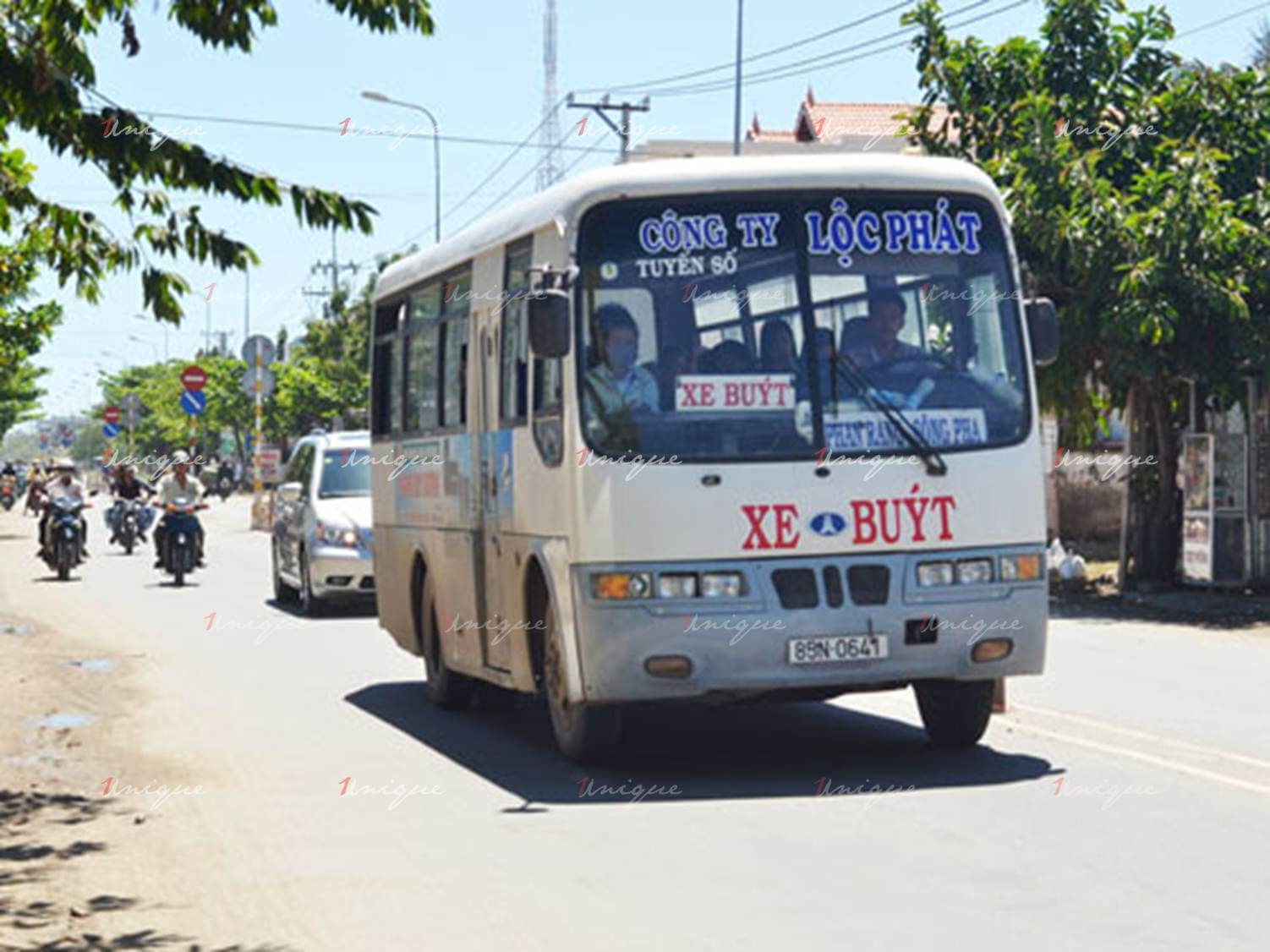 quảng cáo xe bus tại ninh thuận