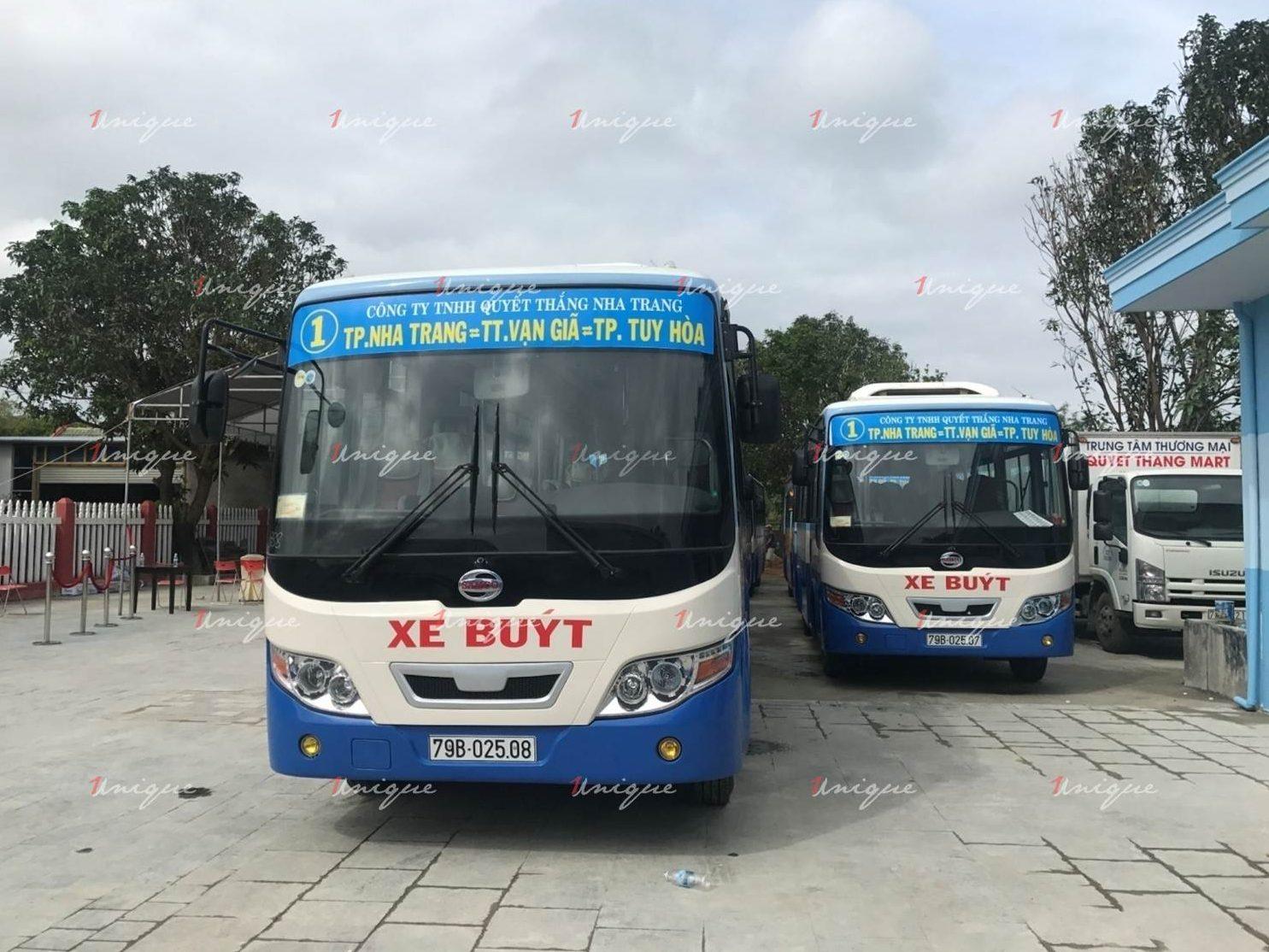 quảng cáo xe bus tại phú yên