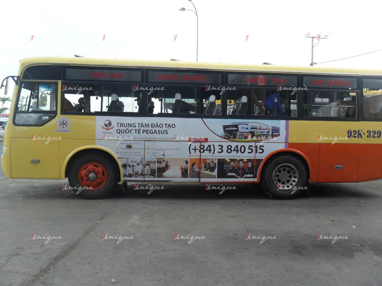 quảng cáo xe bus tại quảng nam