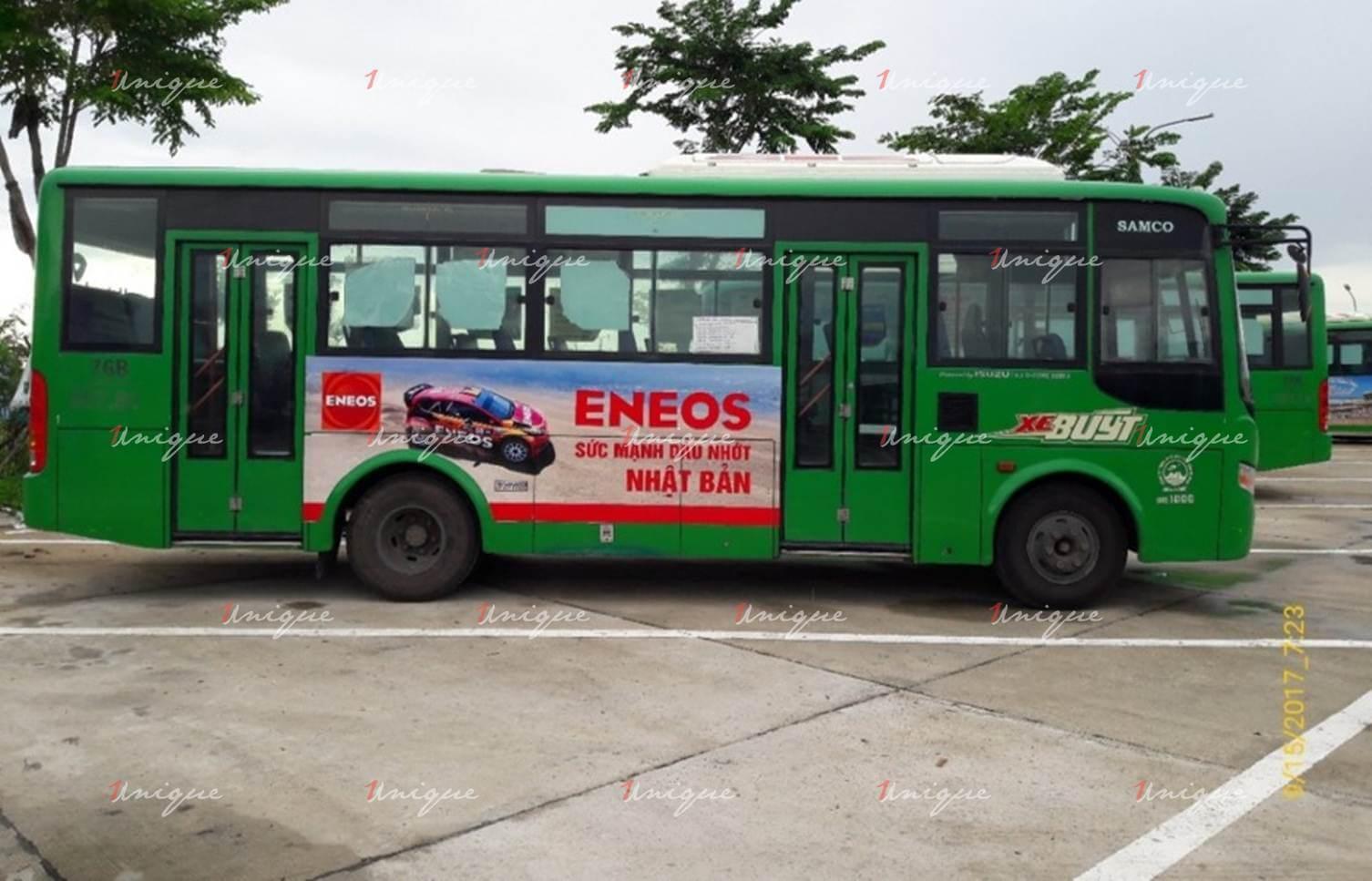 quảng cáo xe bus quảng ngãi