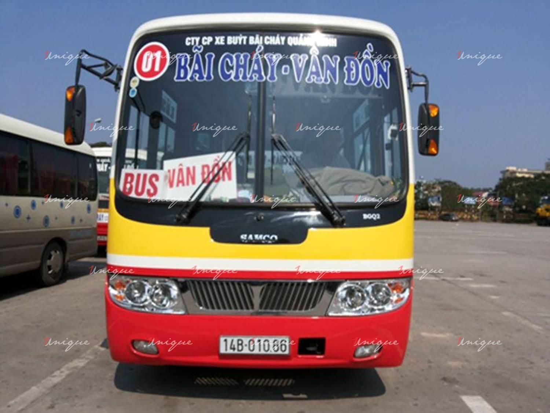 quảng cáo xe bus tại quảng ninh