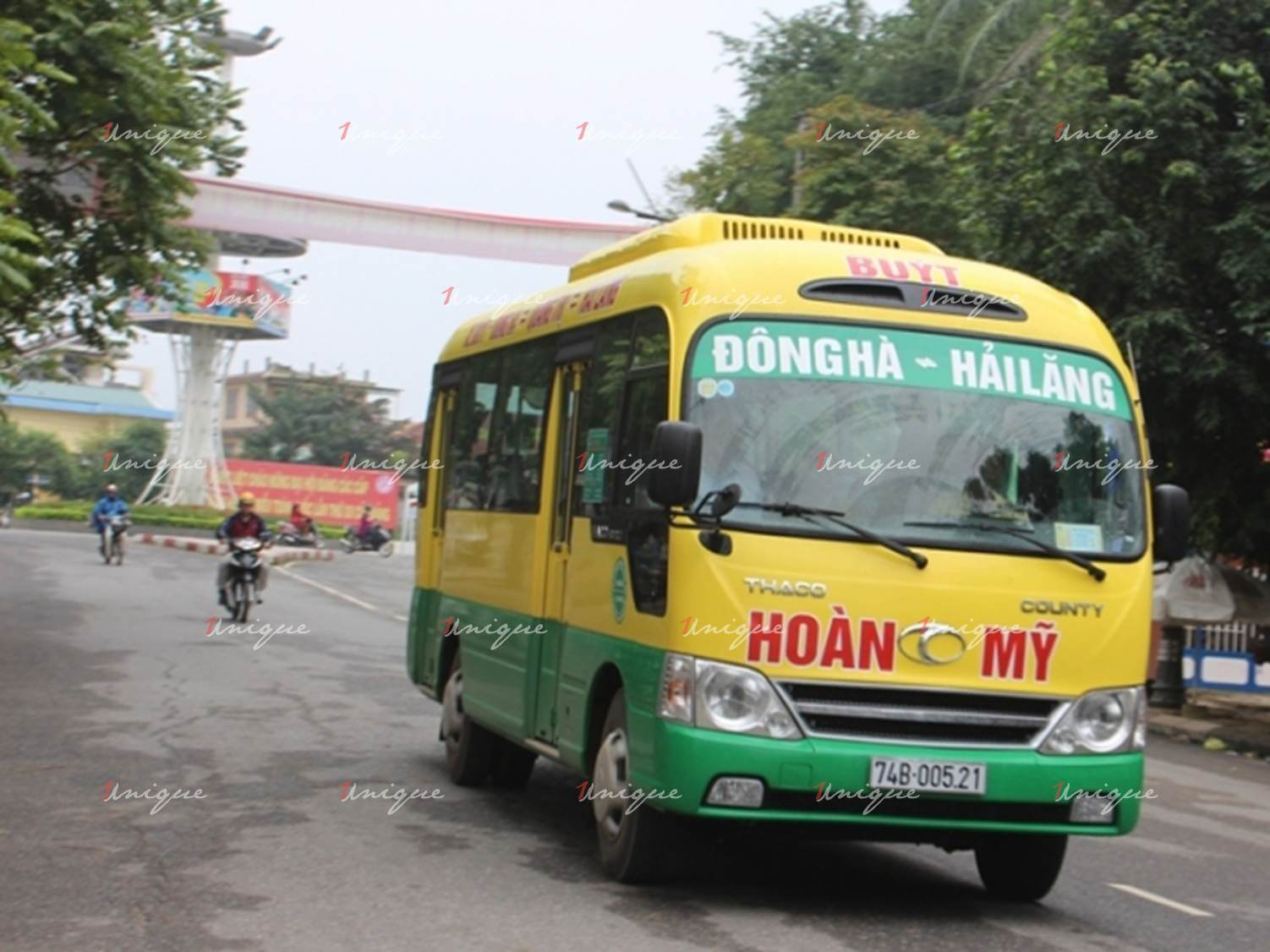 quảng cáo xe bus tại quảng trị