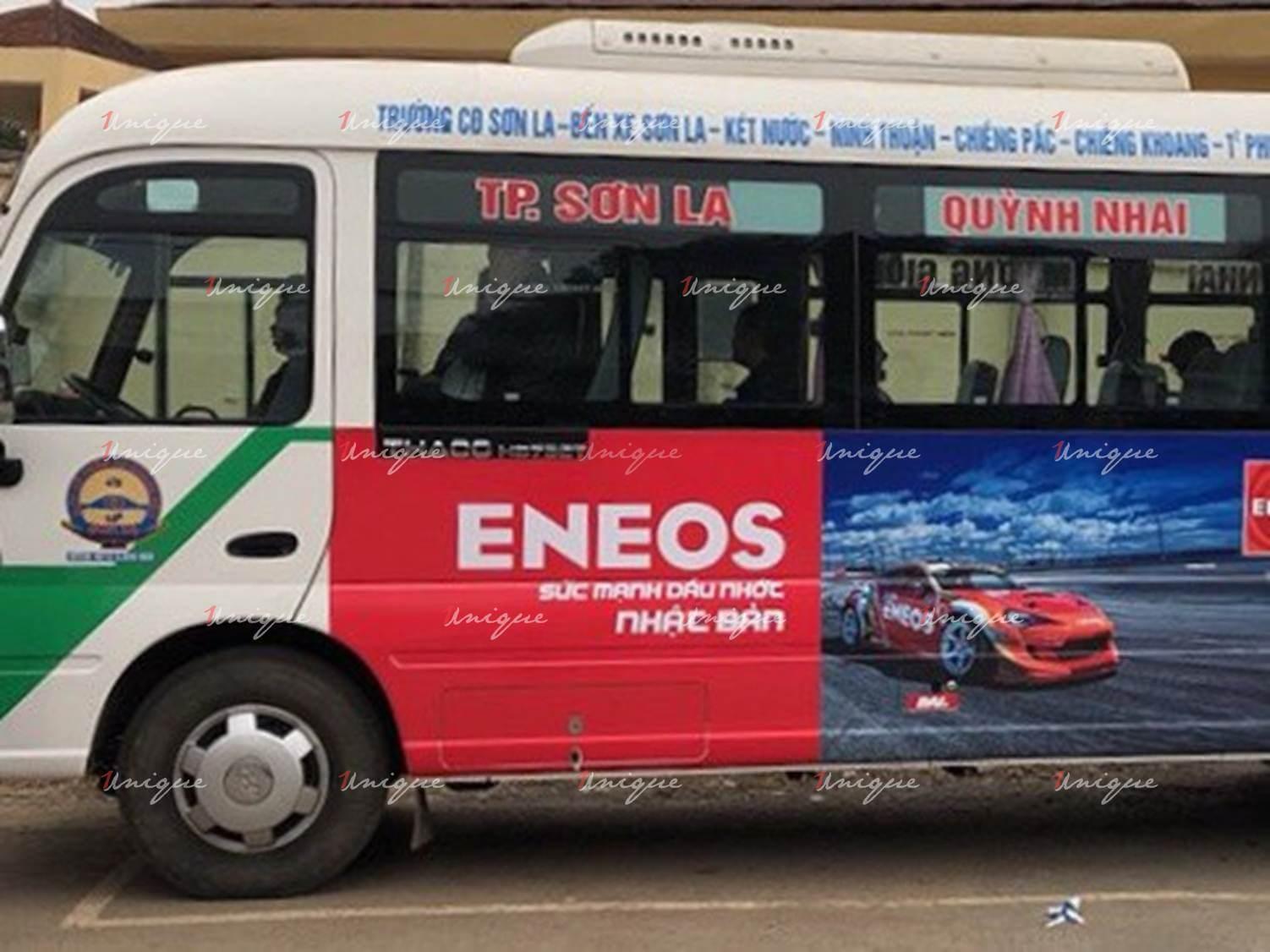 quảng cáo xe bus tại sơn la