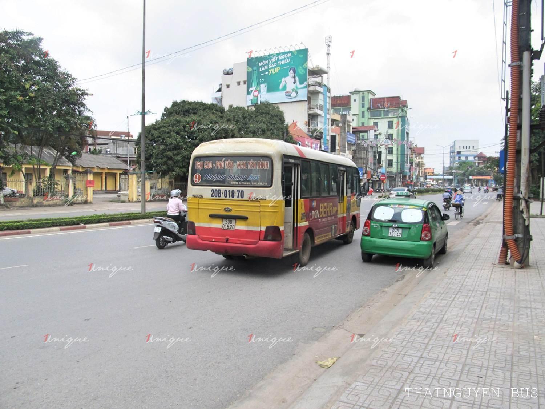 quảng cáo xe bus thái nguyên