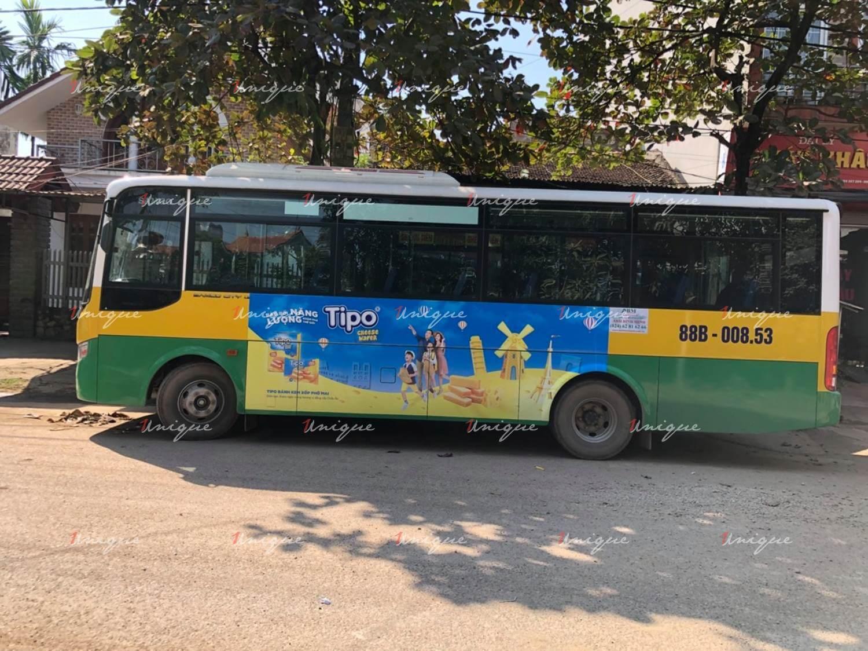 quảng cáo xe bus tại vĩnh phúc