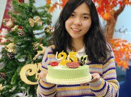 Unique chúc mừng sinh nhật nhân sự Thu Nguyệt