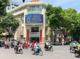 Điện Máy Xanh quảng cáo trên màn hình Led ngã tư Hai Bà Trưng - Phan Chu Trinh
