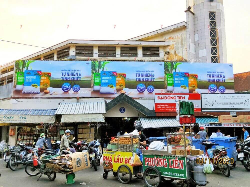 Đường Biên Hòa quảng cáo biển chợ tại nhiều tỉnh thành miền Nam