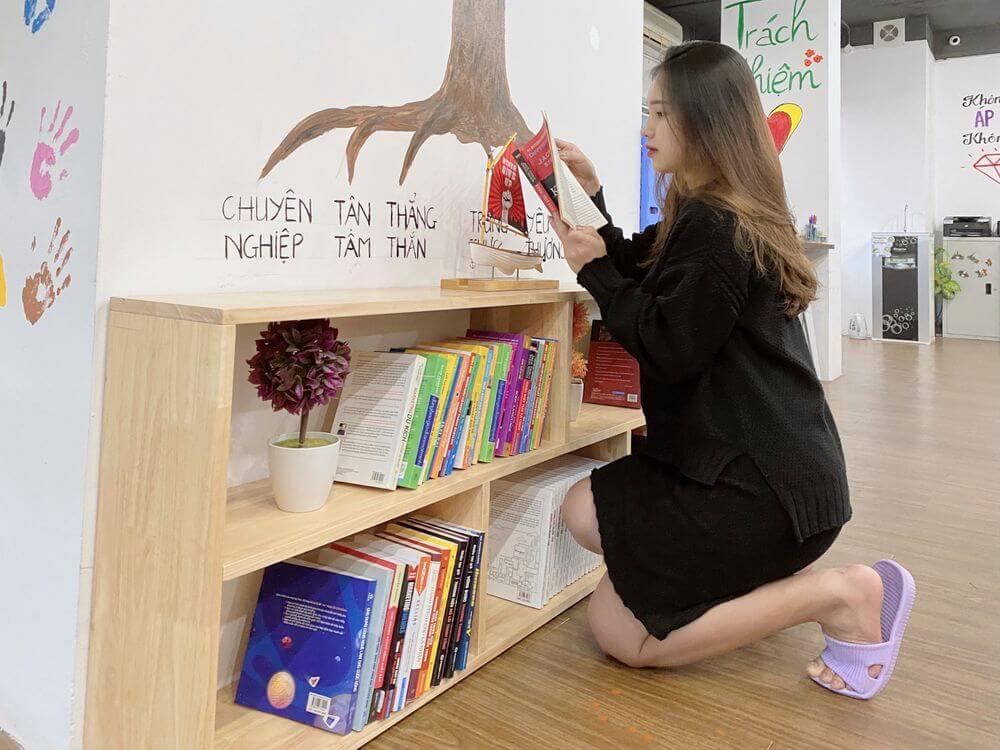 Lan tỏa tình yêu đọc sách đến với người Unique