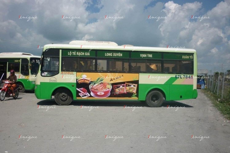 Quảng cáo xe bus tại An Giang
