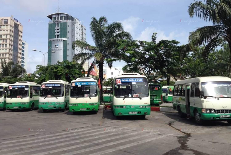Quảng cáo xe bus tại Hậu Giang