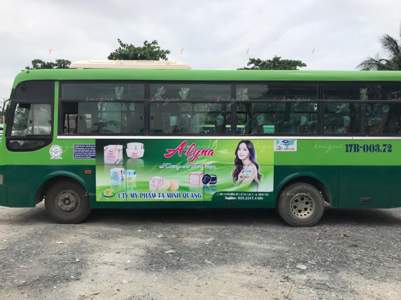 Quảng cáo xe bus tại Lạng Sơn