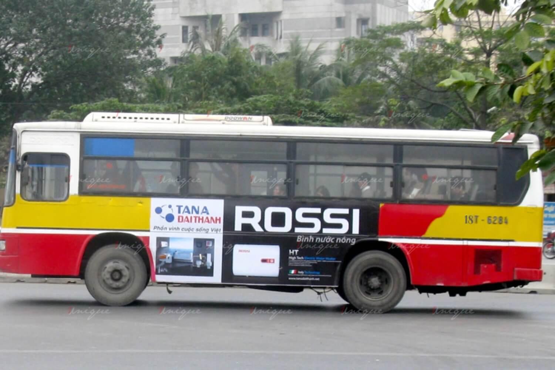 Quảng cáo xe bus tại Nam Định