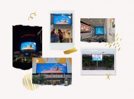 Sữa đậu nành Fami Canxi quảng cáo màn hình Led