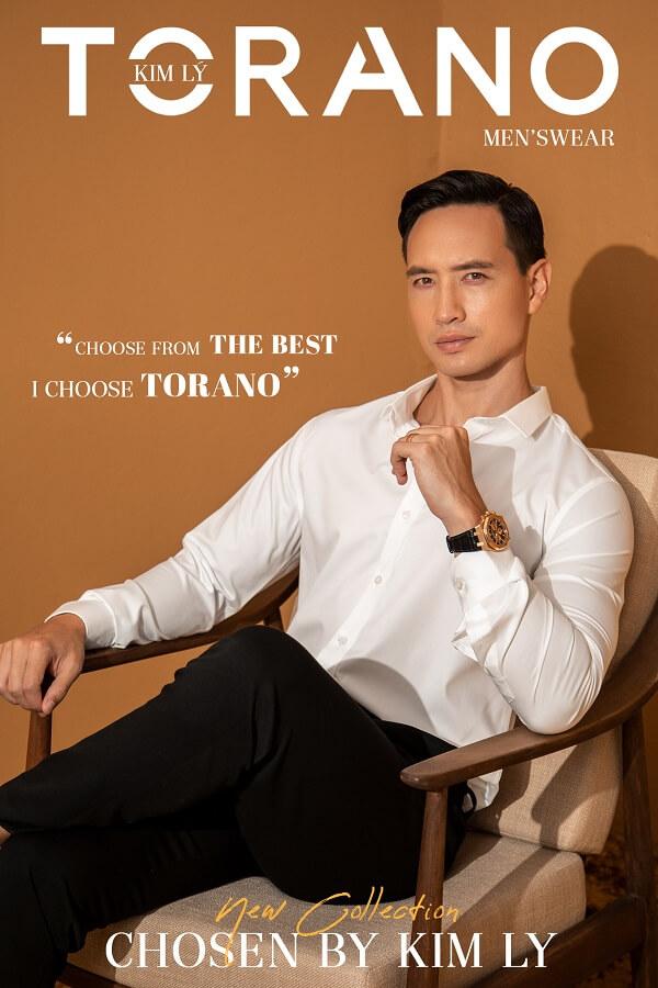 thời trang Torano thi công quảng cáo trên xe ô tô