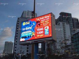 Điện Máy Xanh quảng cáo màn hình Led ngoài trời quảng trường 2 tháng 4 Nha Trang