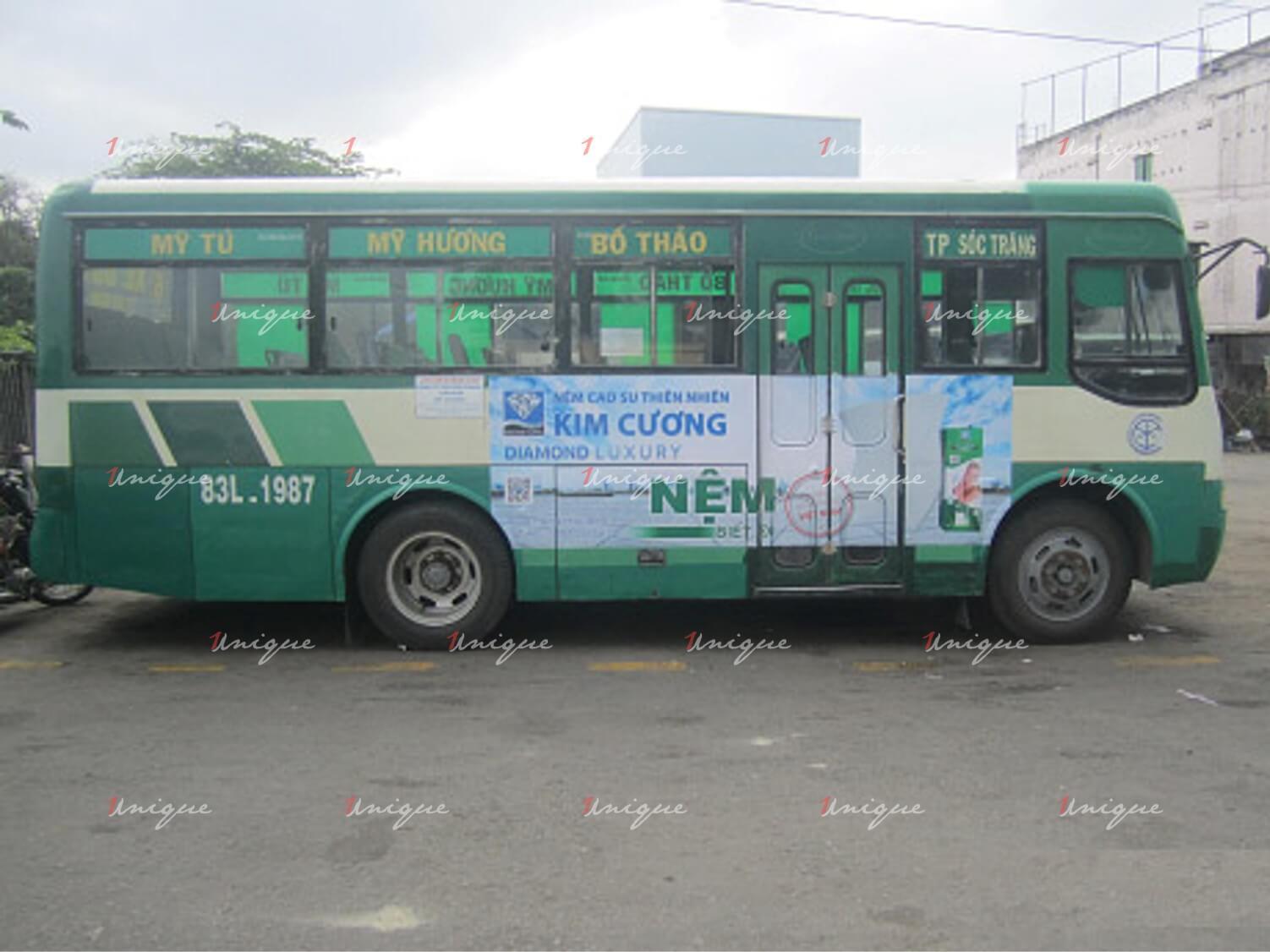 Quảng cáo xe bus tại sóc trăng