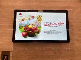 Táo Nhật Bản Aoimori quảng bá thương hiệu trên chuỗi màn hình Lcd, Frame