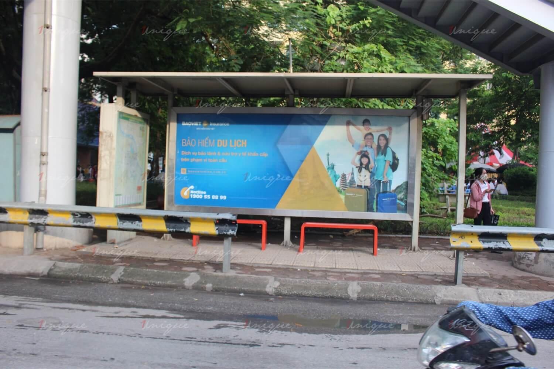 quảng cáo ngoài trời cho ngành bảo hiểm