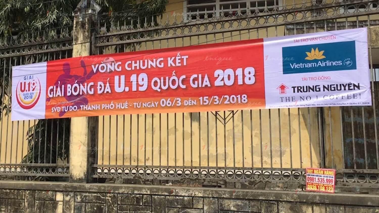 Dịch vụ treo băng rôn, phướn, banner quảng cáo tại Hà Nội