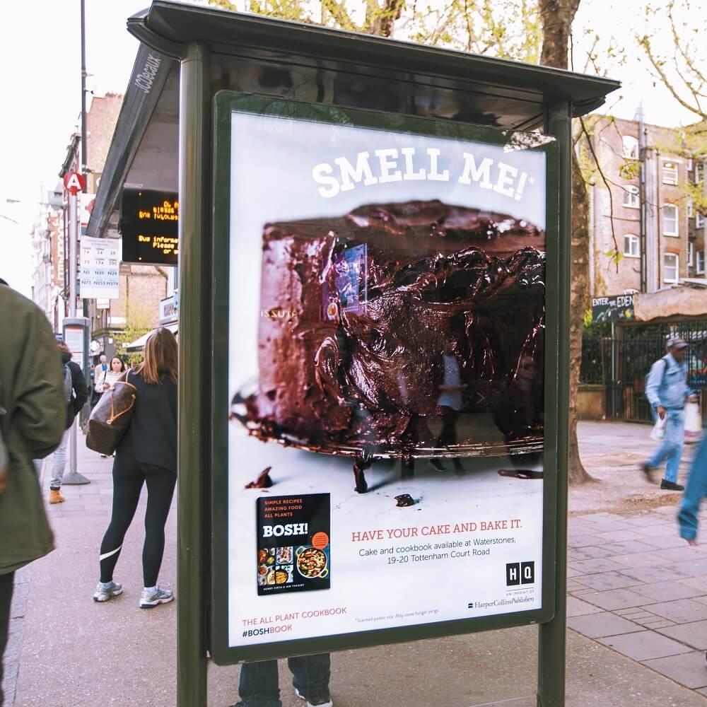 Sức mạnh của mùi hương trong quảng cáo ngoài trời