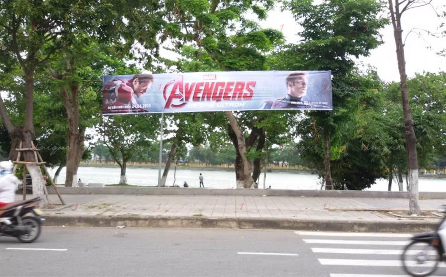 treo băng rôn phướn banner quảng cáo tại tphcm
