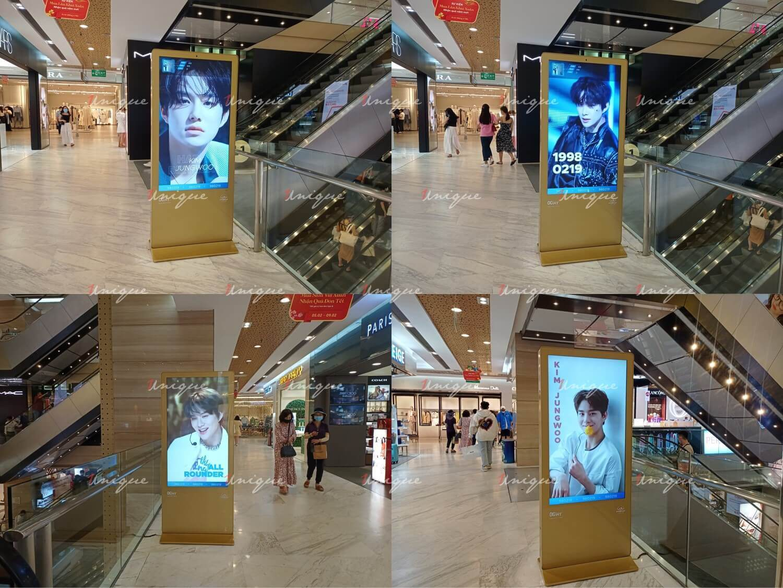Project quảng cáo LCD chúc mừng sinh nhật Jungwoo NCT