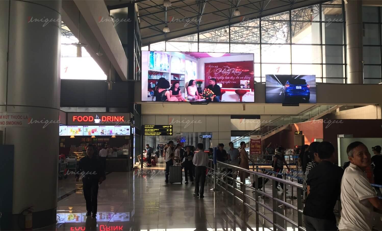 quảng cáo tại sân bay nội bài