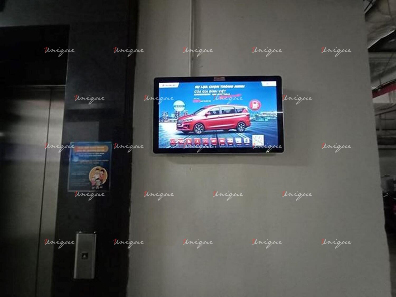 Suzuki quảng cáo màn hình Lcd Frame tại Hà Nội và Hồ Chí Minh