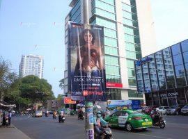 FPT Play treo banner quảng cáo phim Liên Minh Công Lý