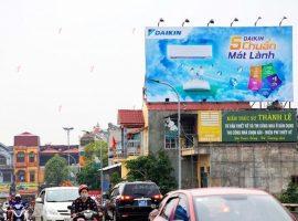 Điều hòa Daikin quảng cáo Pano ngoài trời tại nhiều tỉnh thành