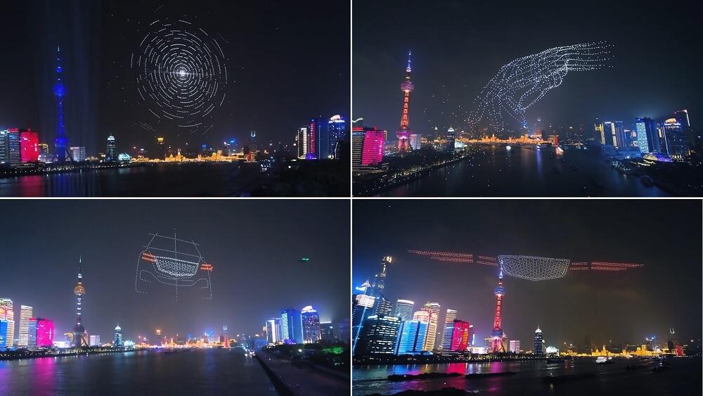 Genesis drone show ra mắt thương hiệu tại Trung Quốc