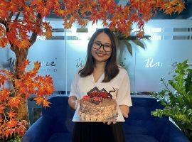 Unique chúc mừng sinh nhật Phó giám đốc Khách hàng Ngọc Nguyễn