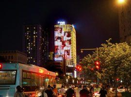 ARMY Việt quảng cáo Led Building TNR Tower quảng bá single Butter của BTS