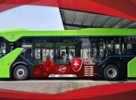 Unique OOH lan tỏa thông điệp chống dịch COVID-19 trên xe buýt điện VinBus