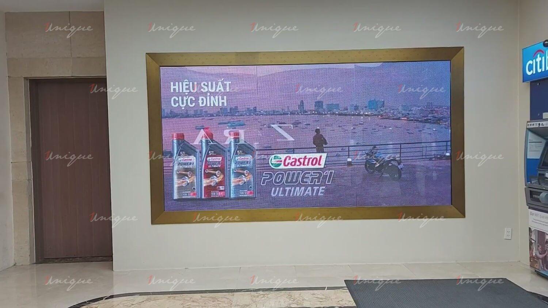 Màn hình LED quảng cáo trong nhà (LED Indoor Screen) tại Vincom Đồng Khởi, Hồ Chí Minh