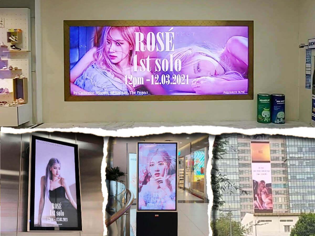 Màn hình LED quảng cáo trong nhà và ngoài trời tại Vincom Đồng Khởi, Hồ Chí Minh