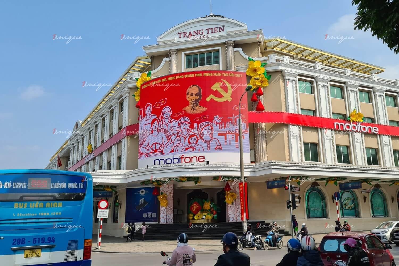 Màn hình Led quảng cáo ngoài trời tại Tràng Tiền Plaza, Hoàn Kiếm, Hà Nội