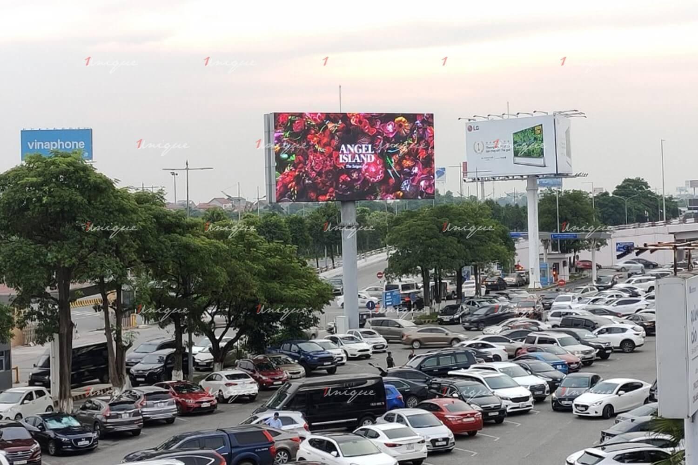 Màn hình Led quảng cáo ngoài trời tại sân bay Nội Bài