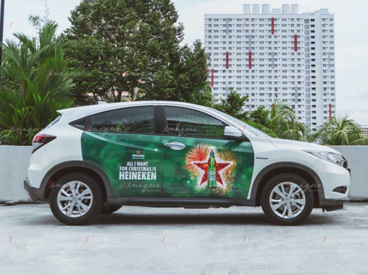 Bí quyết thiết kế quảng cáo trên xe ô tô độc đáo và ấn tượng