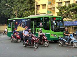 đấu giá quảng cáo xe buýt
