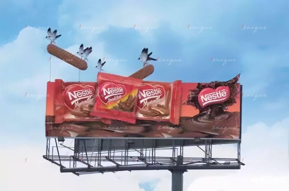 Maquette quảng cáo